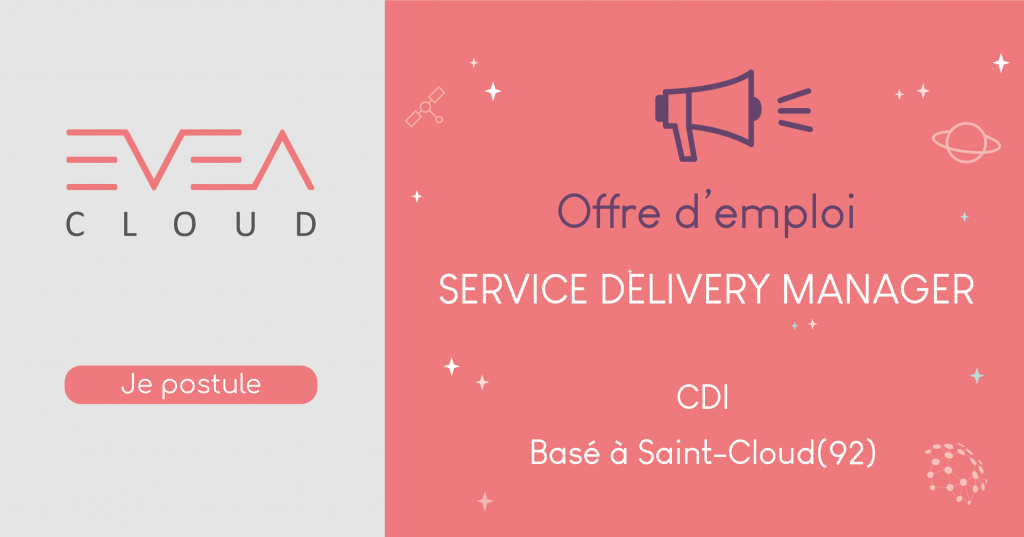 [Offre CDI] : Service Delivery Manager